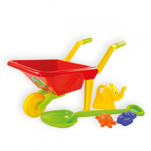 Wheelbarrow with Equipment