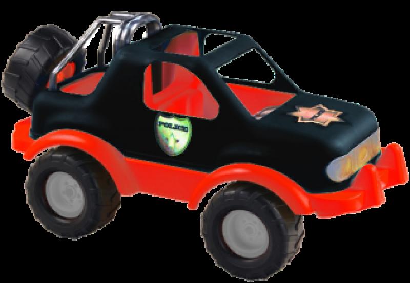 Liivakastiauto Jeep  (rattad kummist)