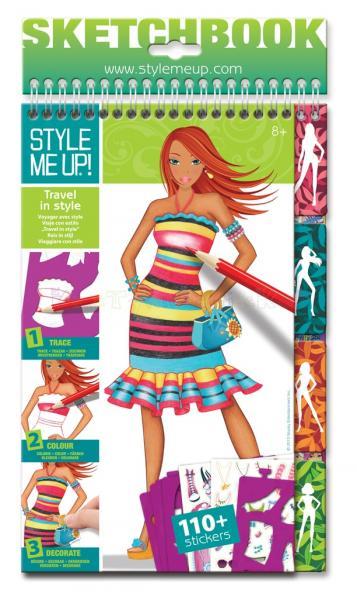 "Disainiraamat tüdrukutele ""Style Me Up"""