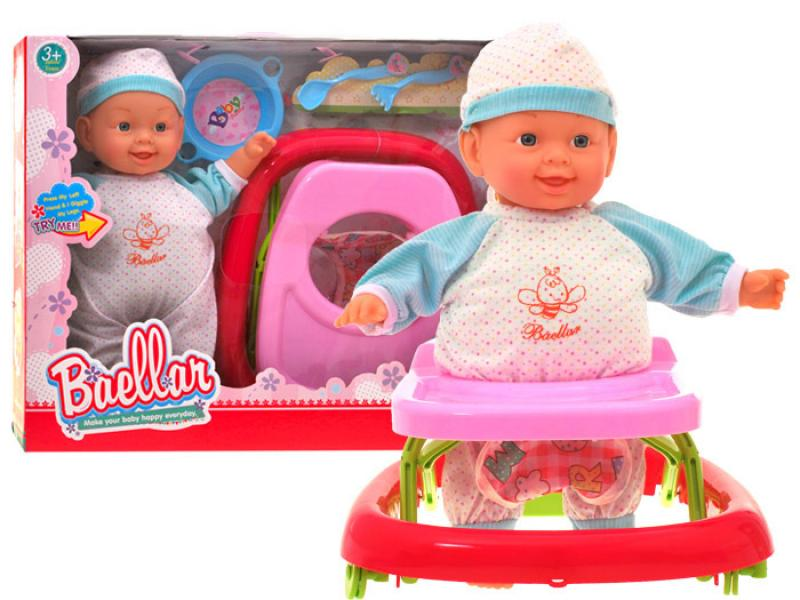Funny Baby Doll with walker