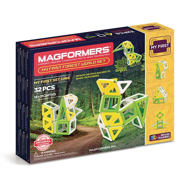 "Magnetic Magformers ""My First Forest World Set"""