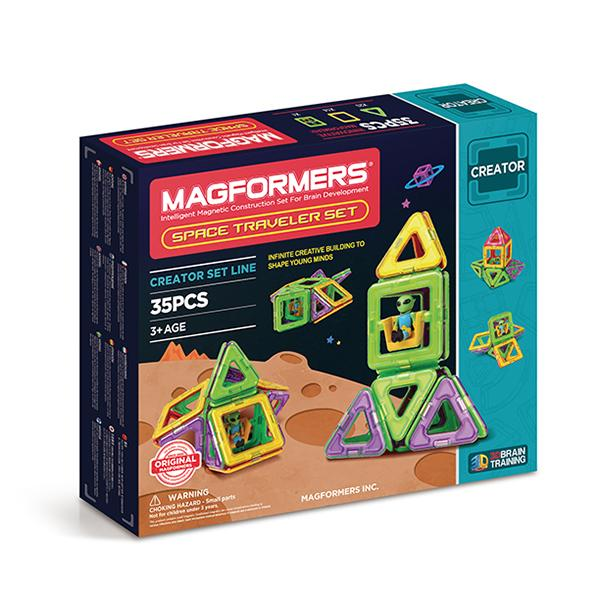 "Magnetic Magformers ""Space Traveler Set"""