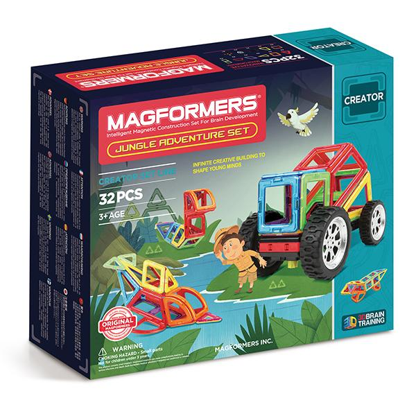 "Magnetkonstruktor Magformers ""Adventure Jungle Set"""