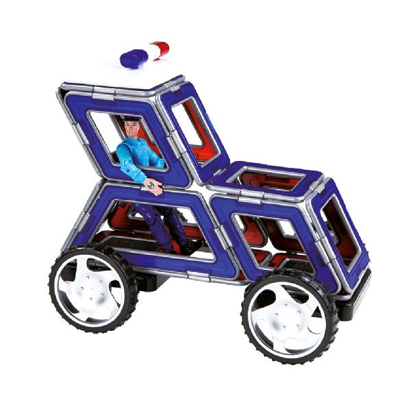 "Magnetkonstruktor Magformers ""Cruisers Emergency Car Set XL"""