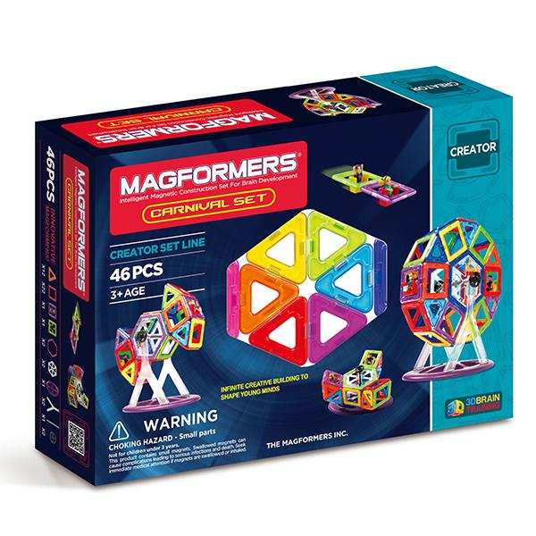 "Магнитный конструктор Magformers ""Carnival Set"""