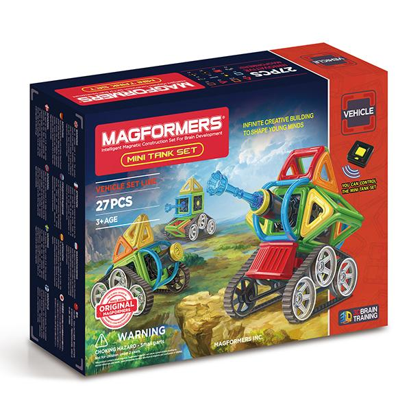 "Magnetic Magformers ""Mini Tank Set"""
