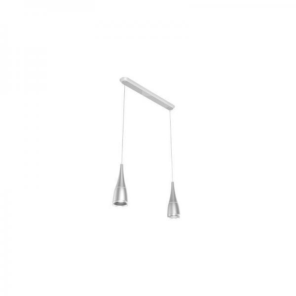 2x Pulse Flex LED-pirni+ lambipesa Sengled Horn, hõbe kmpl