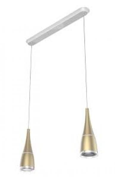 2x Pulse Flex LED-pirni+ lambipesa Sengled Horn, kuldne kmpl