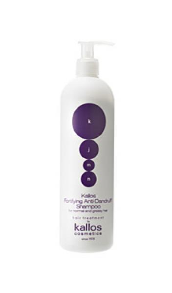 KJMN tugevdav ning raviv kõõmavastane šampoon 1l