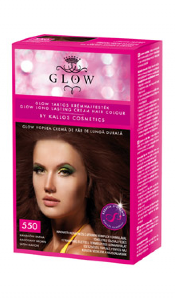 GLOW kauakestva püsivusega juuksevärv 550