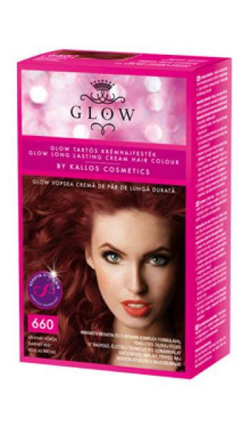 GLOW kauakestva püsivusega juuksevärv 660