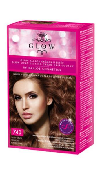 GLOW kauakestva püsivusega juuksevärv 740