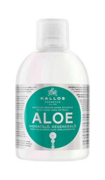 KJMN ALOE niisutav ja parandav šampoon 1000ml