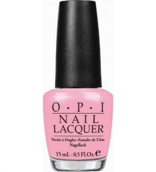 OPI Nail Lacquer H38 I Think In Pink