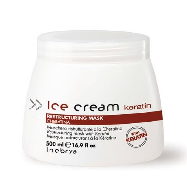 Inebrya Ice Cream Keratin Restructuring Mask 500 ml