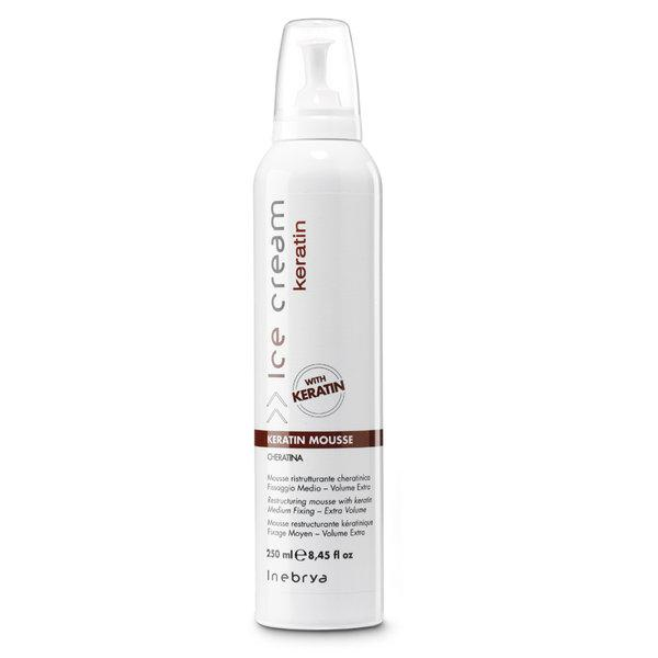 Inebrya Ice Cream Keratin Mousse