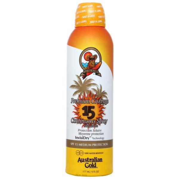 Premium Coverage SPF 15 Continous Spray