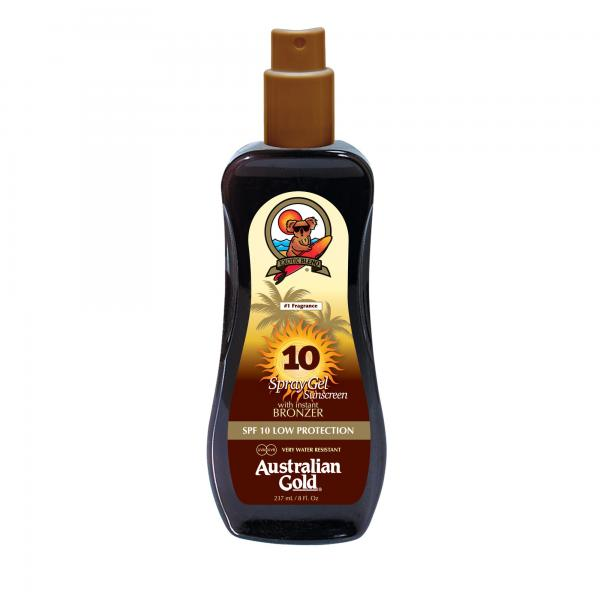 Australian Gold SPF 10 Spray Gel Bronzer
