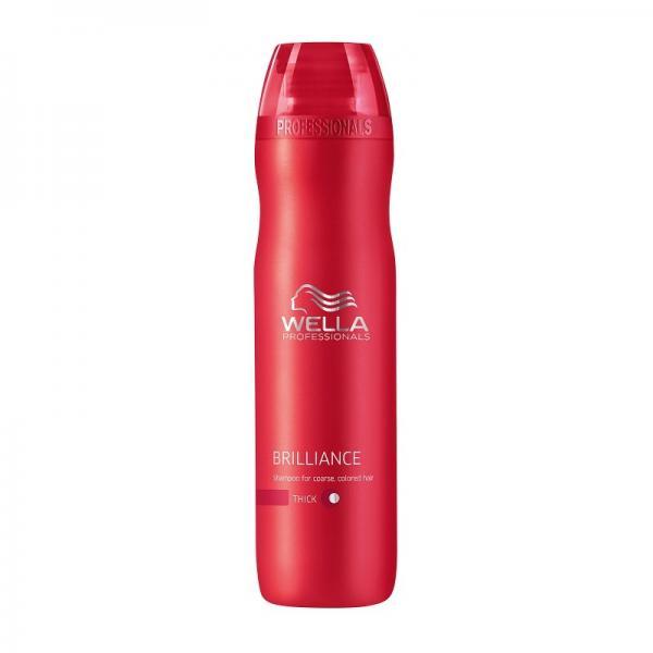 Wella Care Brilliance Shampoo Thick