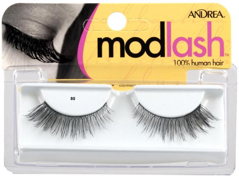 Andrea Mod Strip Lashes, Style 80 - Black