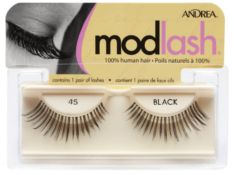 Andrea Mod Strip Lashes, Style 45 - Black