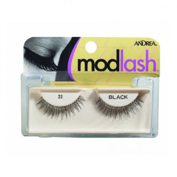 Andrea Mod Strip Lashes, Style 21 - Black