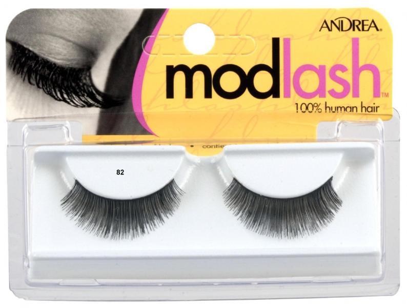 Andrea Mod Strip Lashes, Style 82 - Black