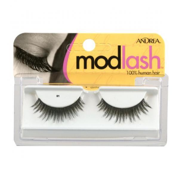 Andrea Mod Strip Lashes, Style 81 - Black