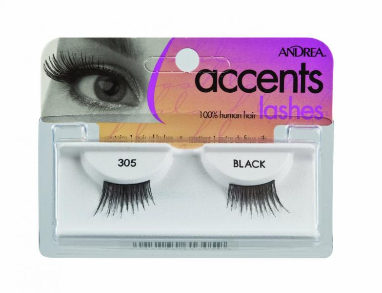 Andrea Accent Lashes, Style 305 - Black