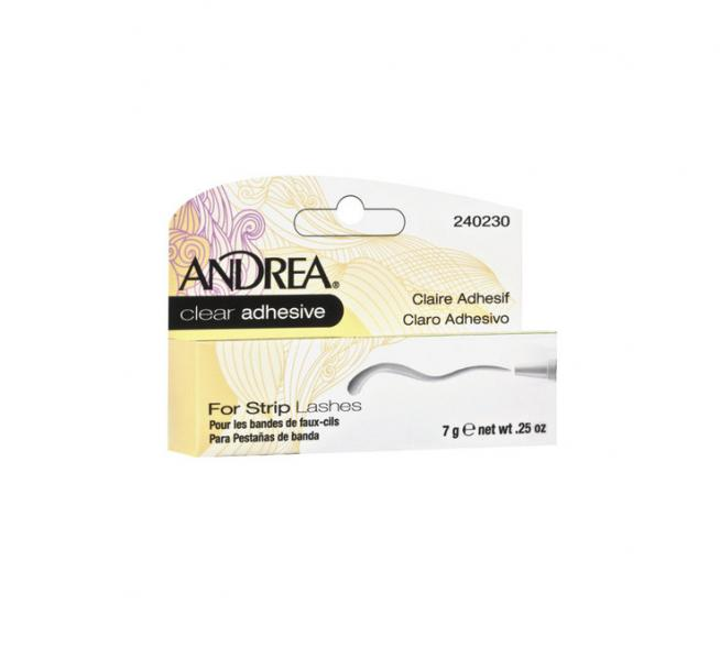 Andrea Strip Lashes Clear Adhesive