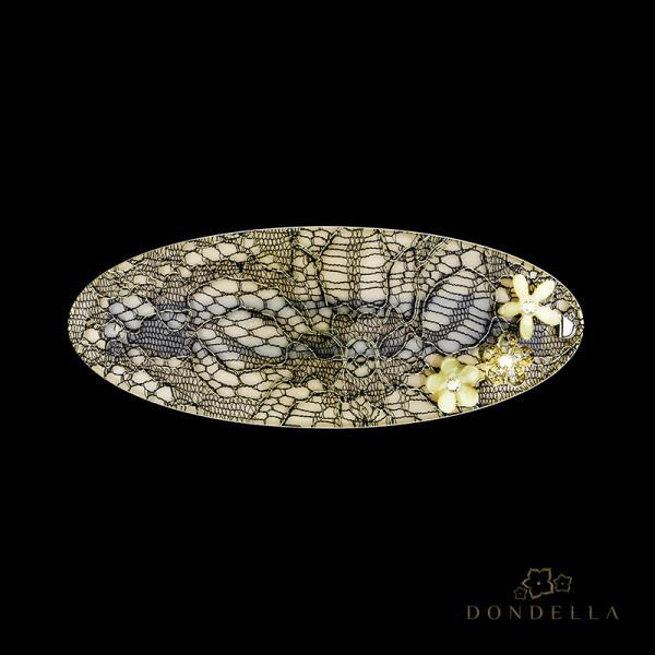 Dondella Juukseklamber Beige Lace 28-1K
