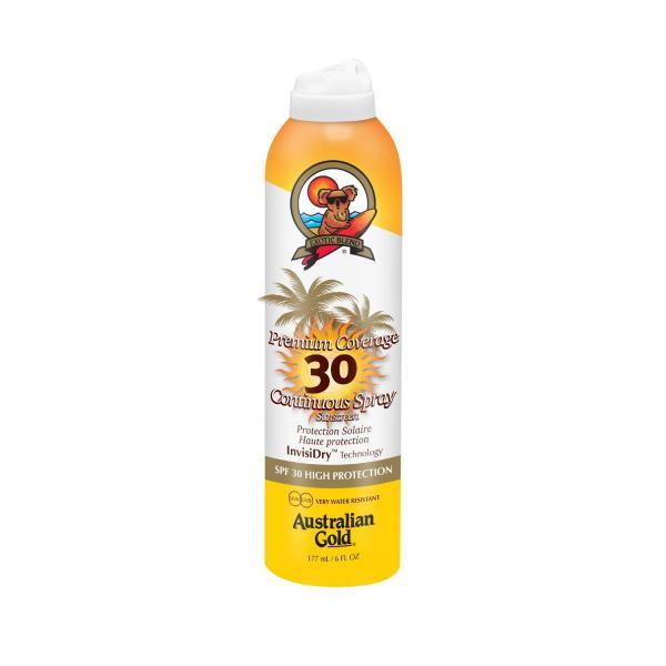 Australian Gold Premium Coverage SPF 30 Continous Spray