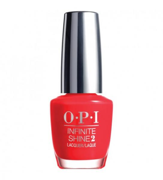 OPI Infinite Shine Unrepentantly Red IS L08