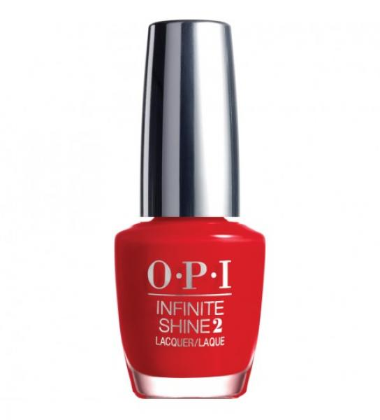 OPI Infinite Shine Unequivocally Crimson IS L09