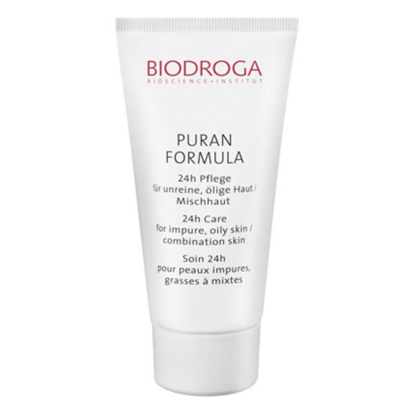 Biodroga Puran Formula 24-Hour Care Impure, Oily/Combination Skin 40 ml