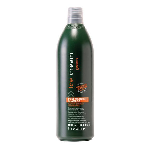 Inebrya Ice Cream Green Post-Treatment Shampoo 1000 ml