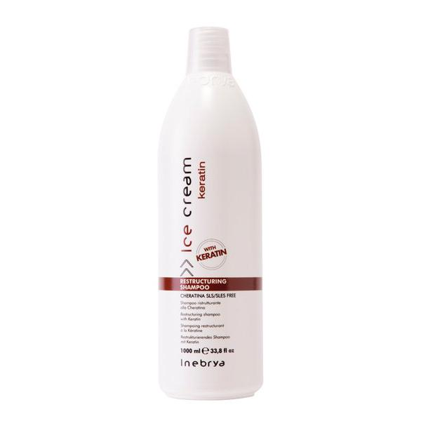 Inebrya Ice Cream Keratin Restructuring Shampoo 1000 ml