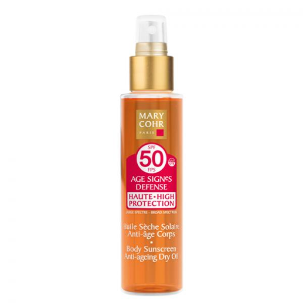 Mary Cohr Age Signes Defense SPF 50 Dry Oil