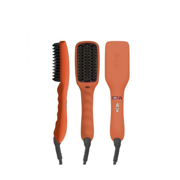 ikoo E-Styler Straightener Brush Orange Blossom