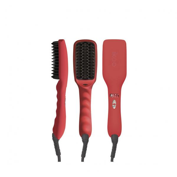 ikoo E-Styler Straightener Brush Fireball