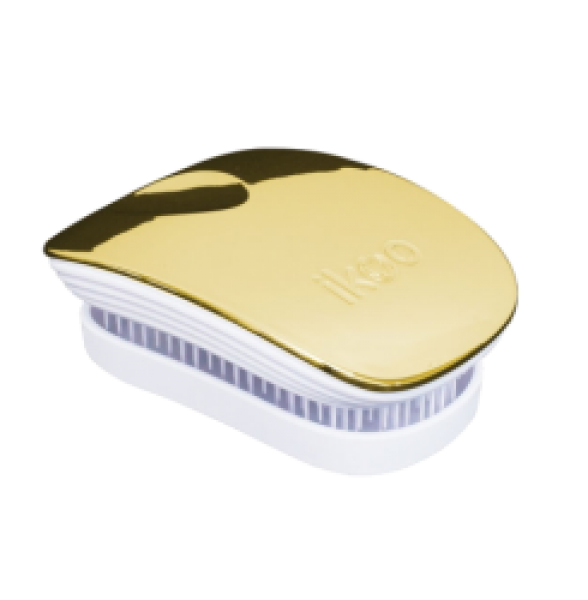 ikoo Metallic Collection Pocket Soleil White Brush