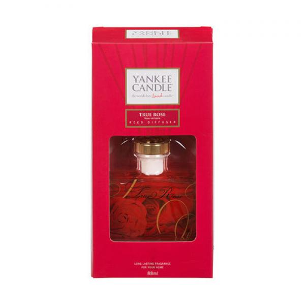 "Yankee Candle Signature Reed Diffuser ""True Rose"" 88ml"