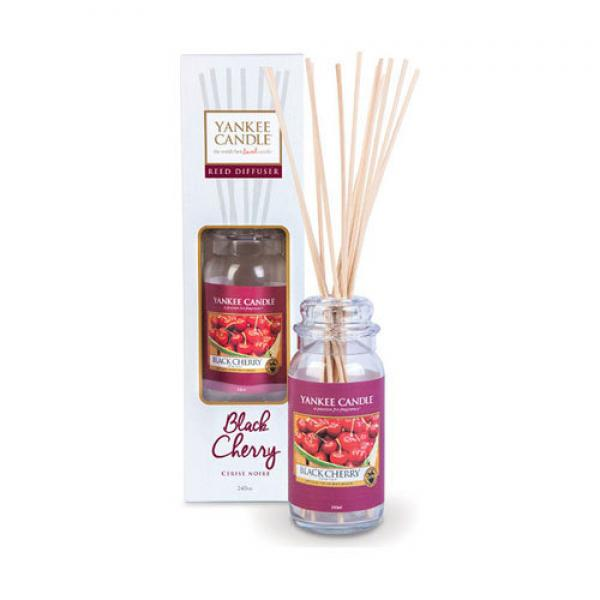"Yankee Candle Classic Reed Diffuser ""Black Cherry"" 240ml"