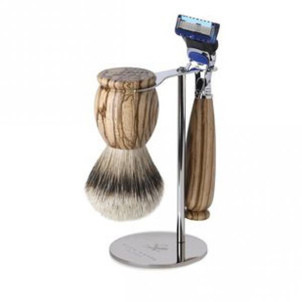 Acca Kappa Shaving Set (Brush & Fusion Razor)
