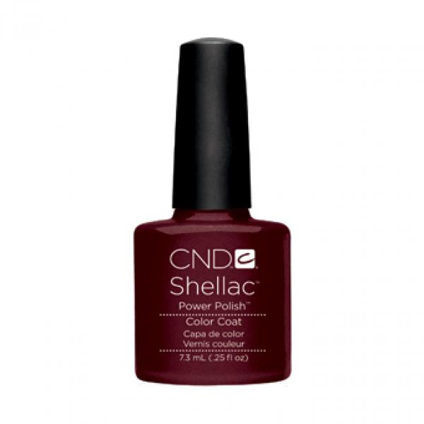 "CND Shellac Color Coat ""Dark Lava"""