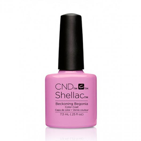 "CND Shellac Color Coat ""Beckoning Begonia"""