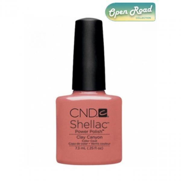 "CND Shellac Color Coat ""Clay Canyon"""