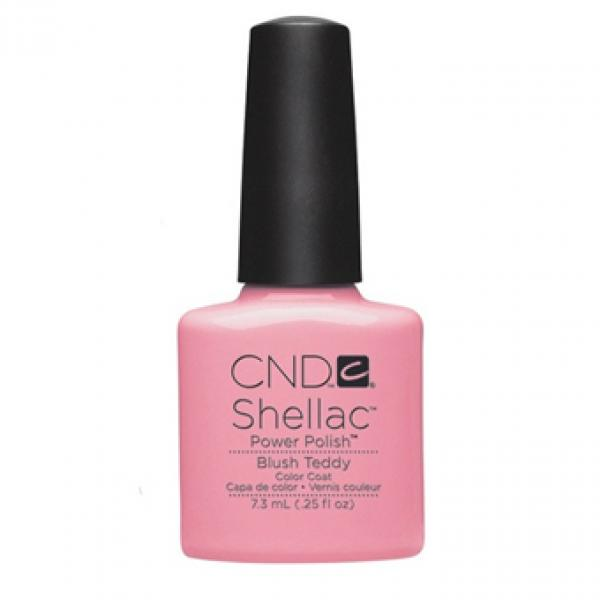 "CND Shellac Color Coat ""Blush Teddy"""