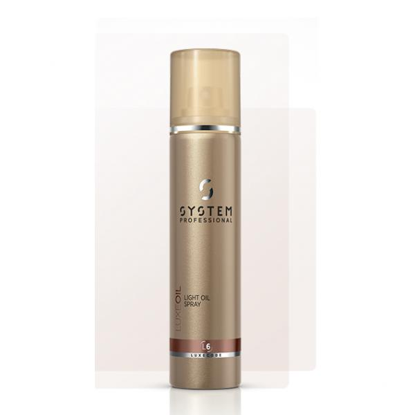 System Professional LuxOil Keratin Light Oil Spray