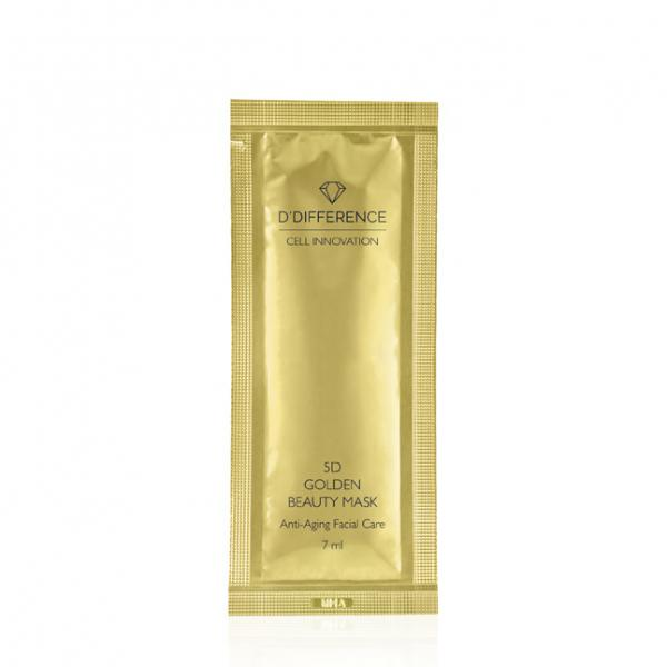 D'Difference 5D Golden Beauty Mask
